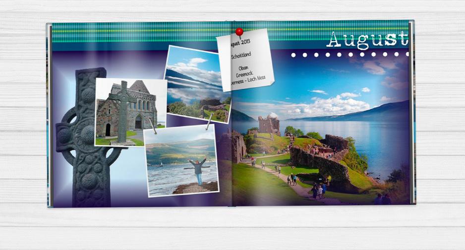 Cestovateľská fotokniha Škotsko