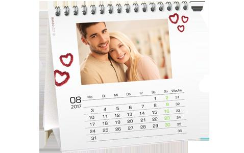 Stolový kalendár štvorcový