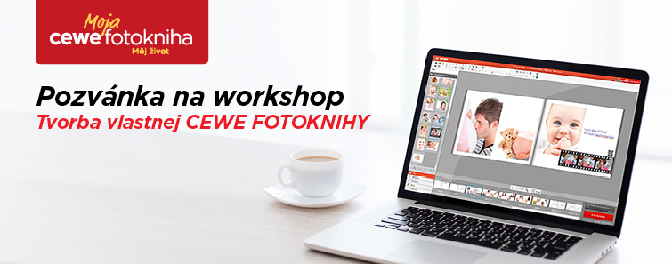 CEWE FOTOKNIHA workshop