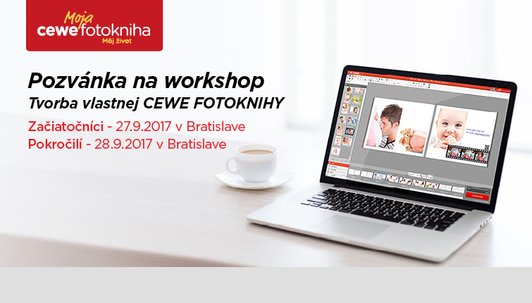 CEWE FOTOKNIHA workshop