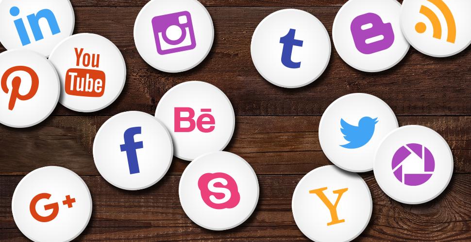 Sociálne siete banner
