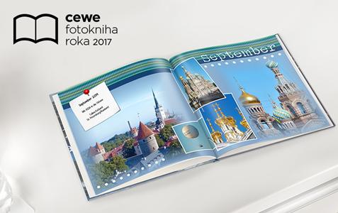CEWE FOTOKNIHA Roka 2017