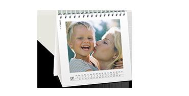 Štvorcový stolový kalendár