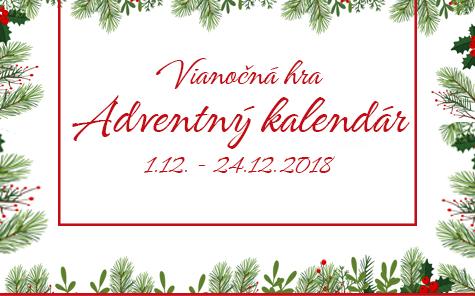 Adventný fotokalendár s CEWE