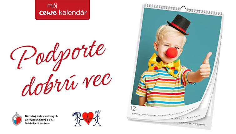 Detské kardiocentrum podporované CEWE Fotokalendárom