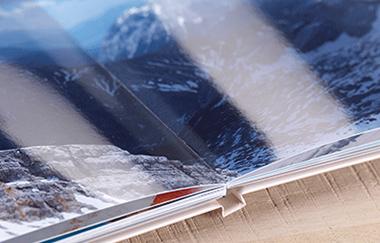 Dovolenková fotokniha na lesklom fotopapiery