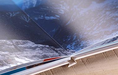 Dovolenková fotokniha na matnom fotopapiery