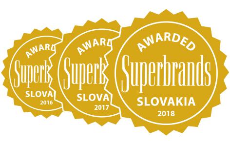 Patríme k najlepším, ocenenie Superbrands