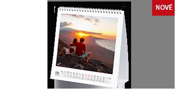 Veľký štvorcový stolový kalendár
