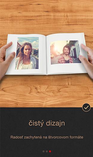 CEWE FOTOKNIHA Pure App -čistý dizajn