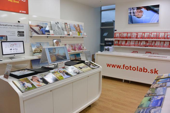 Predajňa Fotolab Žilina