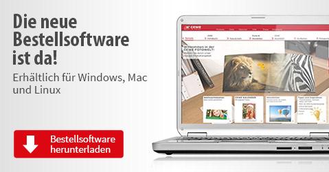 CEWE Bestellsoftware herunterladen, fur Windows, Mac und Linux