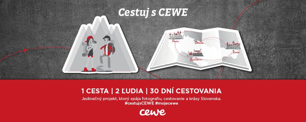 Jedinečný projekt, ktorý spája fotografiu, cestovanie a krásy Slovenska #cestujsCEWE #mojecewe