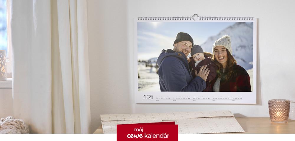 CEWE fotokalendár