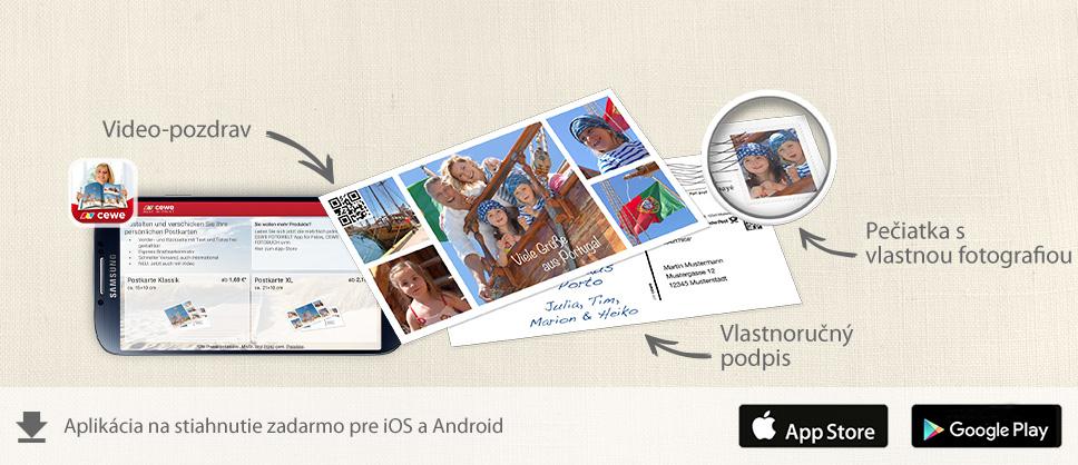 CEWE Aplikácia fotosvet
