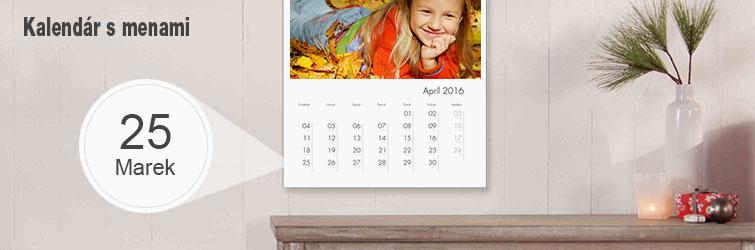 Kalendár s meninami