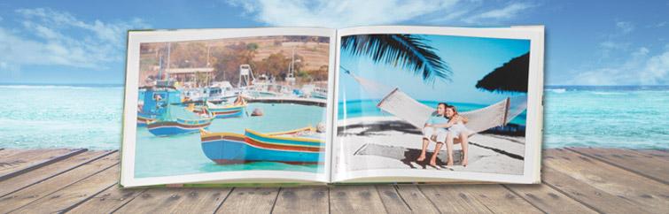ukážka fotoknihy z dovolenky