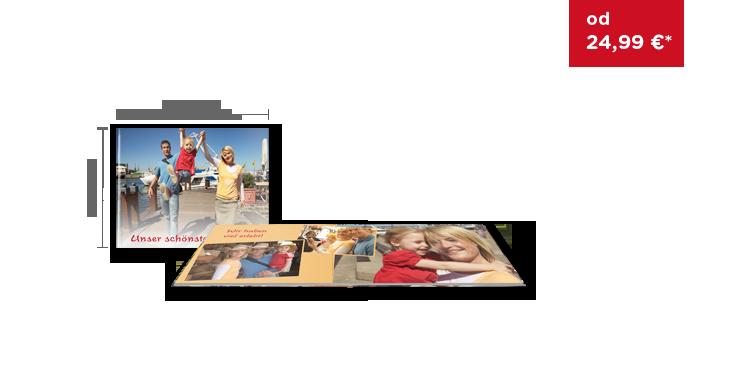 CEWE FOTOKNIHA Kompakt panoráma: Na matnom fotopapieri