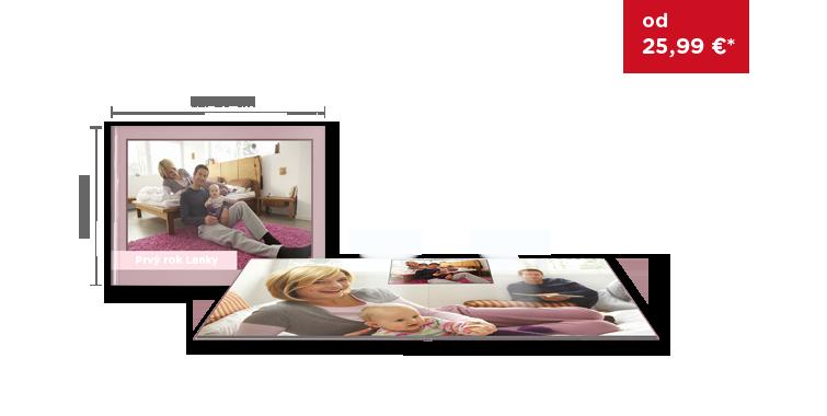 CEWE FOTOKNIHA eľká panoráma na lesklom fotopapieri