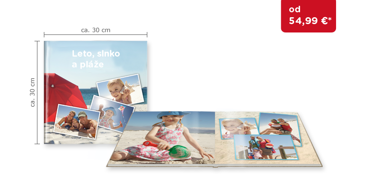 CEWE FOTOKNIHA XL: na lesklom fotopapieri
