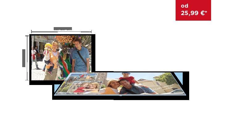 CEWE FOTOKNIHA Veľká panoráma: na matnom fotopapieri