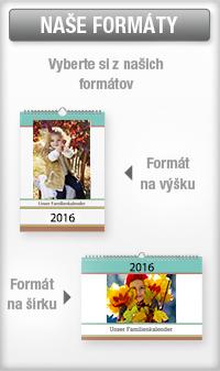 Formáty fotokalendárov