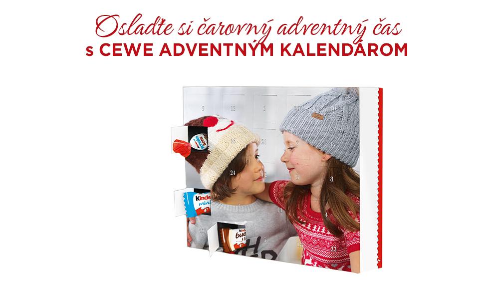 Oslaďte si čarovný adventný čas s CEWE Kalendárom