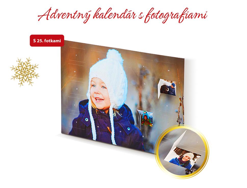 Adventný kalendár s fotografiami