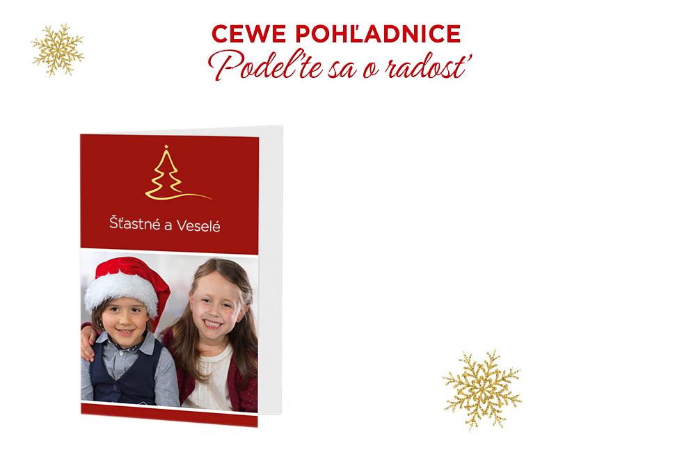 CEWE Pohľadnice, podeľte sa o radosť