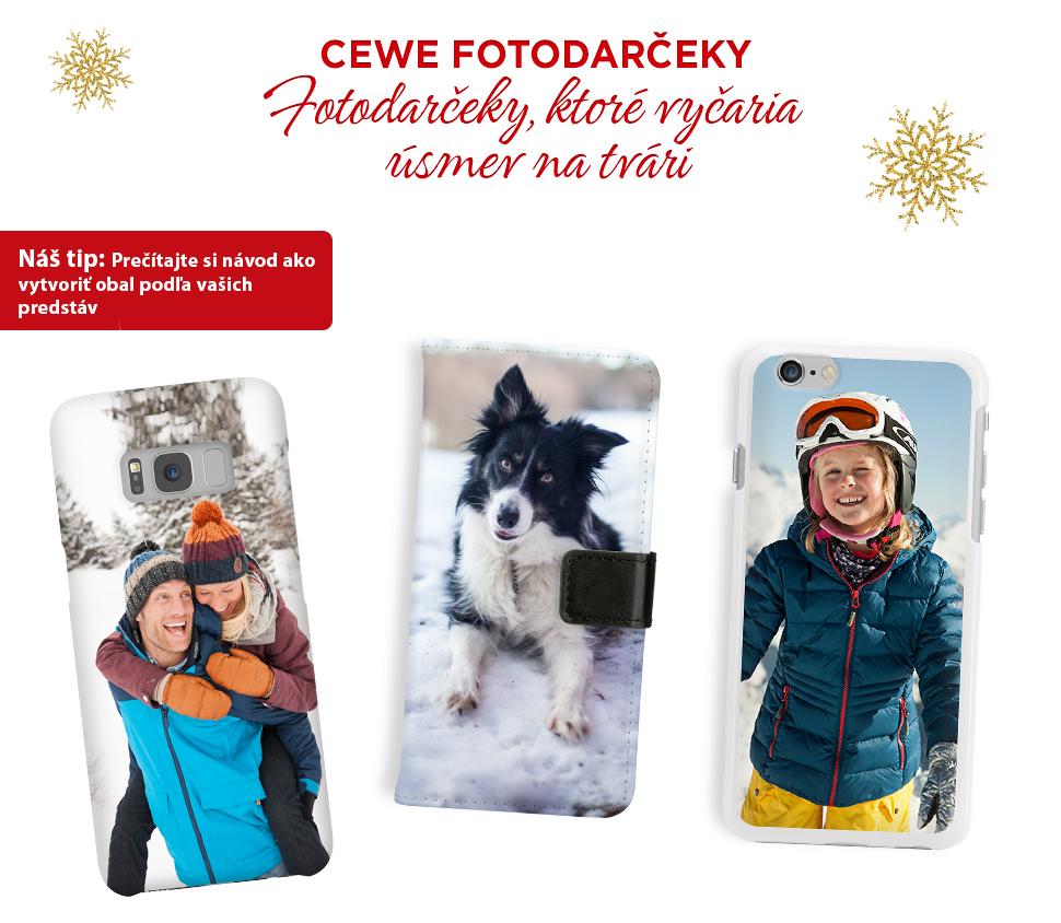CEWE Fotodarčeky, fotodarčeky, ktoré vyčaria úsmev na tvári