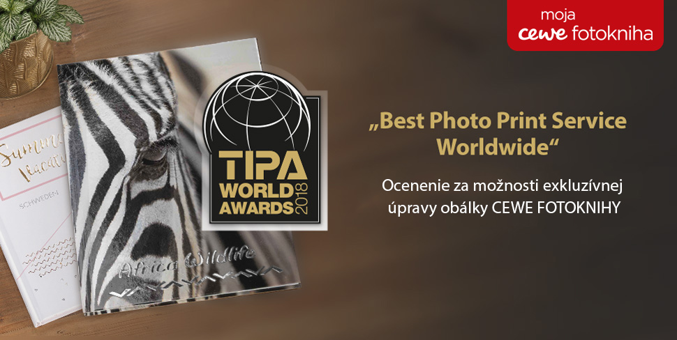 Ocenenie CEWE FOTOKNIHY