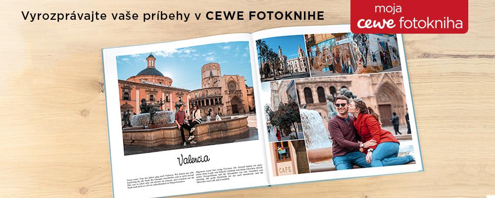 príbehy v CEWE Fotoknihe