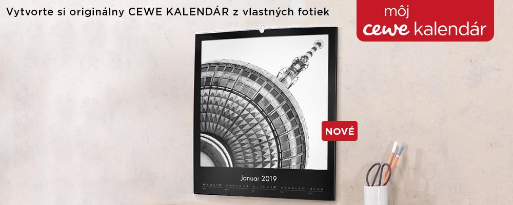 Naše CEWE Fotokalendáre
