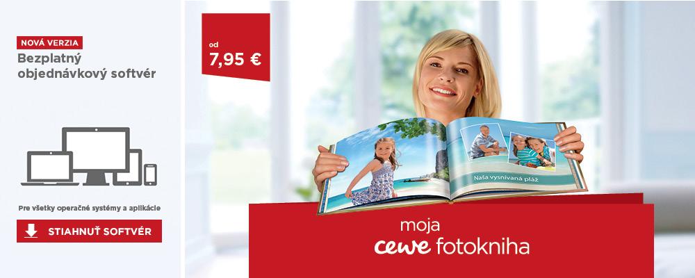 Moja CEWE Fotokniha, softvér CEWE FOTOSVET