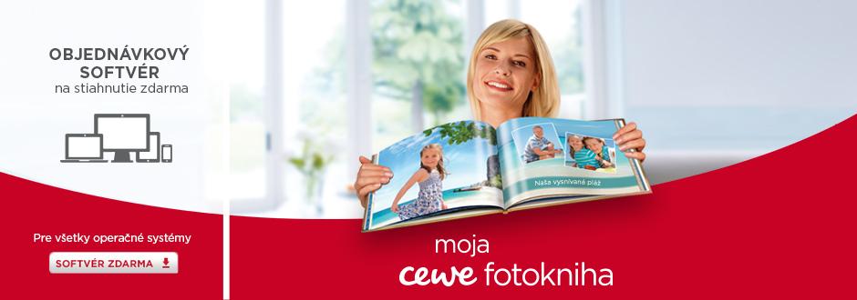 CEWE FOTOKNIHA Najobľúbenejšia fotokniha v Európe, možnosť stiahnutia softvéru