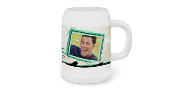 Pivný pohár s panorámou