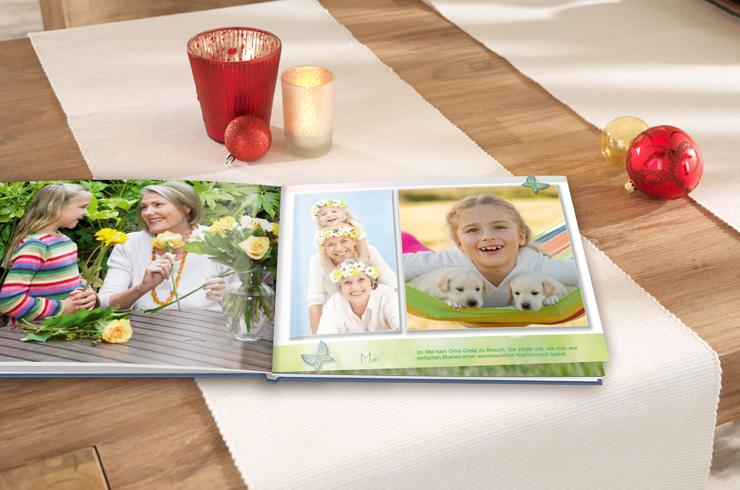 Klare Gestaltung des Innenseiten Ihres Jahrbuches
