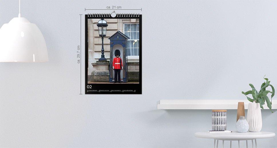 Nástenný kalendár A4 na výšku