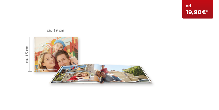 CEWE FOTOKNJIGA Kompakt panorama s trdimi platnicami