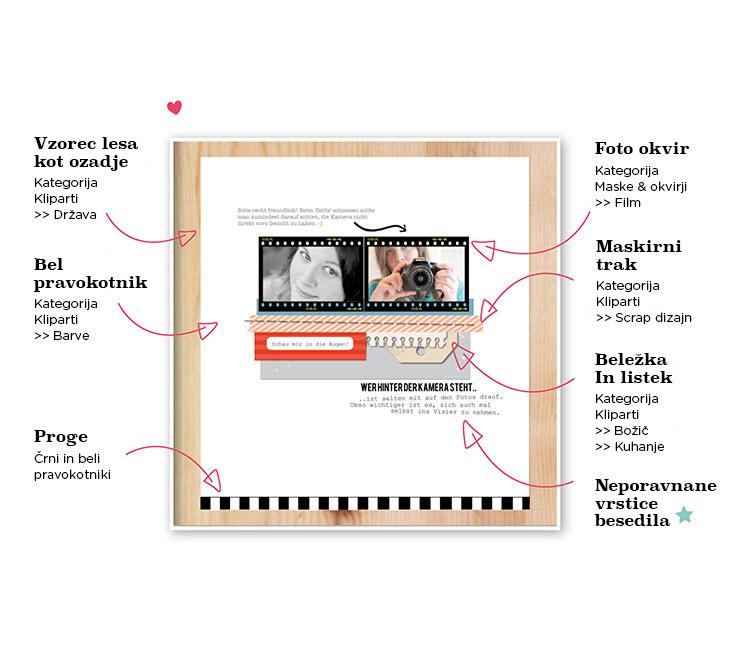 Clipart-Elemente: Notizzettel & Tag
