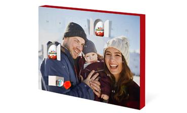 Adventni koledar s čokoladnimi jajčki kinder® Surprise