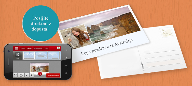 Razglednica iz aplikacije CEWE FOTOSVET