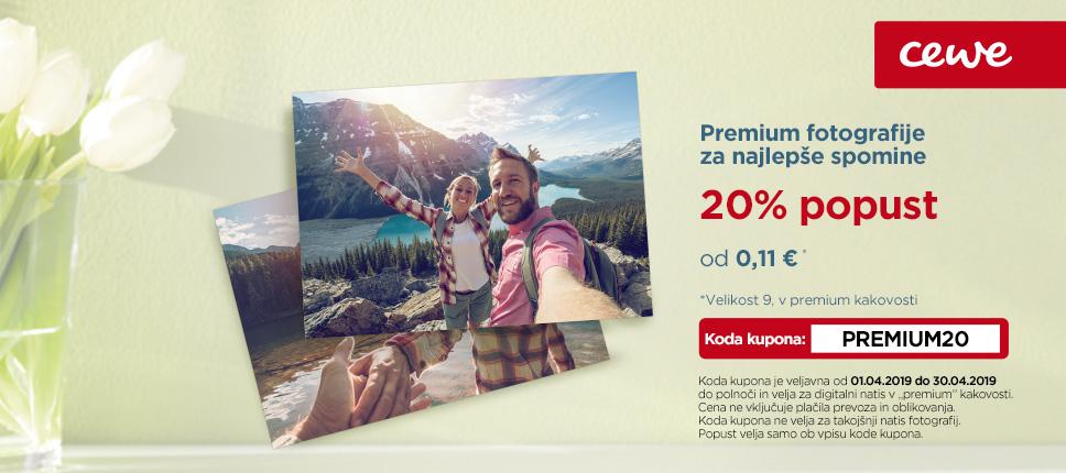 Premium fotografije za najlepše spomine - 20% popust