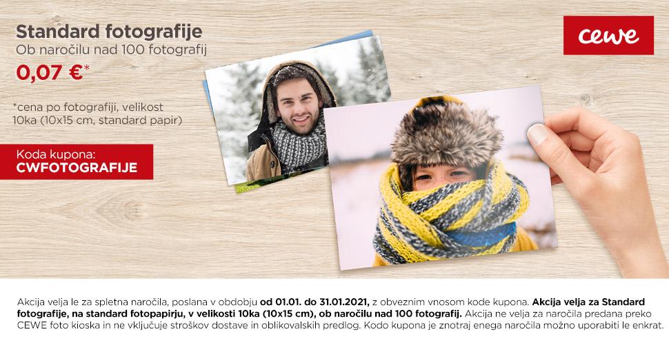 Standard fotografije on naročilu nad 100 fotografij 0,07 €
