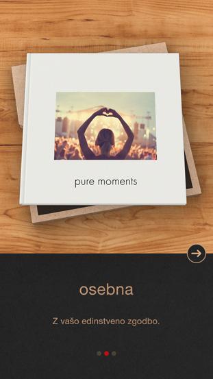 Aplikacija CEWE FOTOKNJIGA Pure - pure