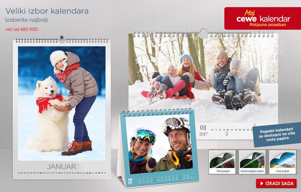 Veliki izbor kalendara