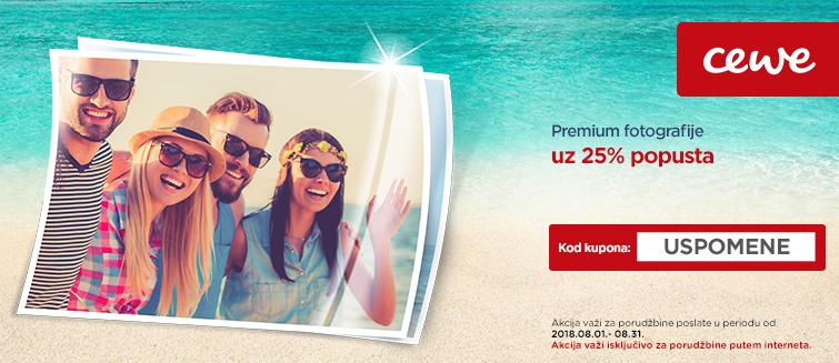 Premium fotografije uz 25% popusta