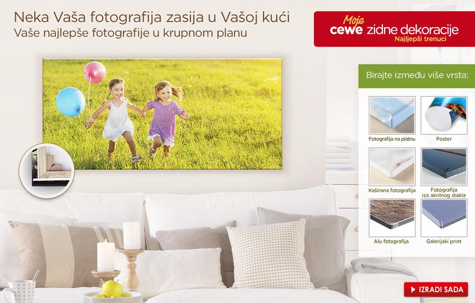 Neka Vaša fotografija zasija u Vašoj kući