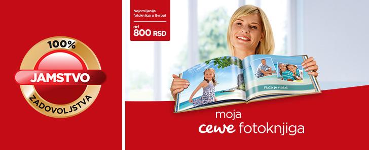 CEWE FOTOKNJIGA - 100% garancija zadovoljstva