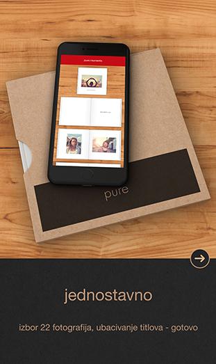 CEWE FOTOKNJIGA Pure App - jednostavno